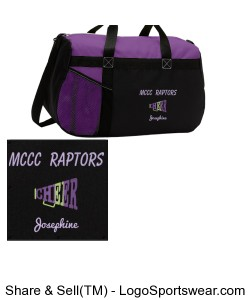 Cheer Squad Gear Bag Design Zoom