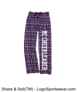 Cheer PJ Pants Design Zoom